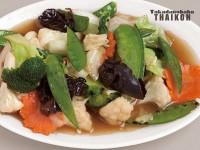 35.野菜のうま煮炒め(パッパックルアムミット)