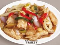 42.白身魚のセロリ炒め(パッドクンチャーイプラー)