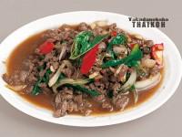 54.牛挽肉のバジル炒め(パットクラッパオネア)