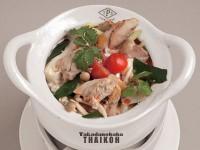 59.鶏肉のココナッツミルクスープ(トムカーガイ)