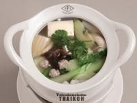 60.豆腐と野菜のスープ(ゲーンチュッタオフー)